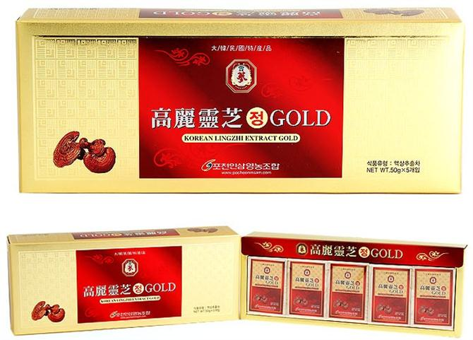 Korean linhzhi extact gold