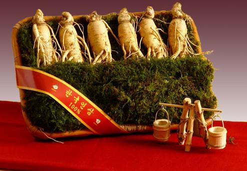 3 Korean fresh ginseng root
