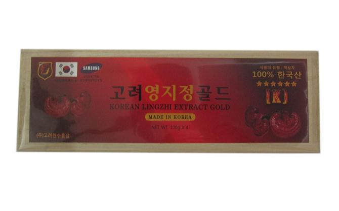 Korean linhzhi extract gold