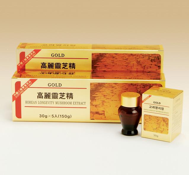 Korean yellow lingzhi extract