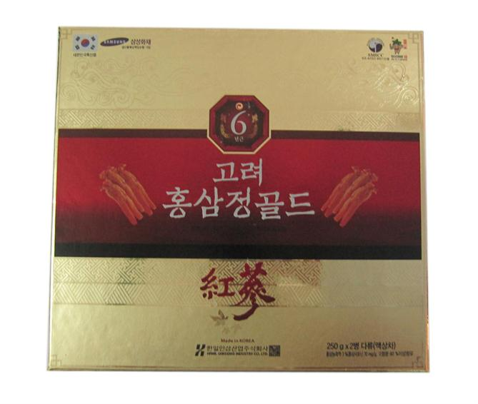 Korean red ginseng extract gold